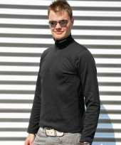Craft thermo poloshirt zwart heren